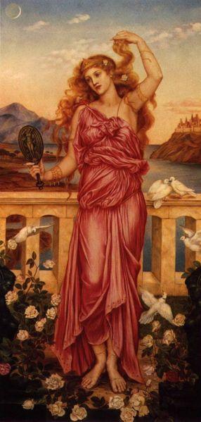 Helen of Troy Evelyn de Morgan 1898