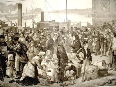 2 Irish Emigrants
