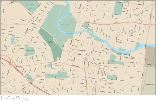 3 Parramatta map