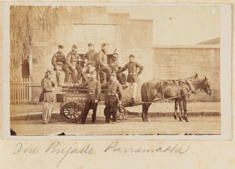 8 Parramatta Fire Brigade 1871