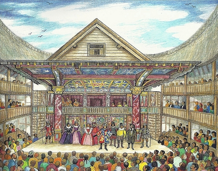 8 elizabethan theatre