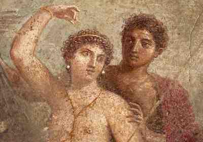 4 Pompeii fresco
