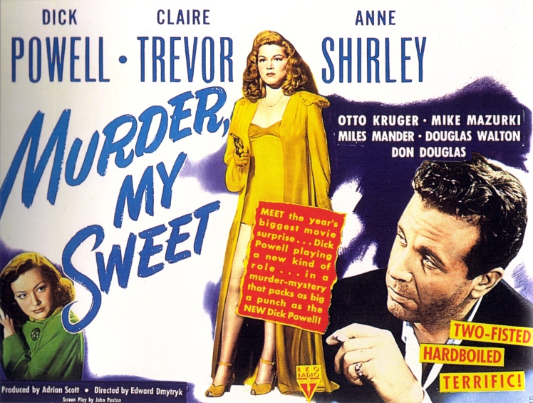 3 Murder, My Sweet