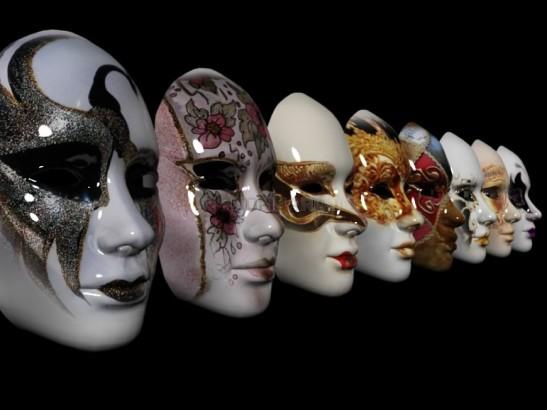 1 venetian masks