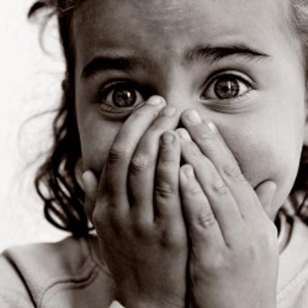 4 Frightened child