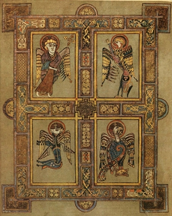 1 kells-four-evangelists-lindisfarne-gospel1
