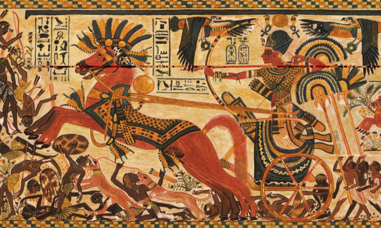 1 Pharaoh in battle