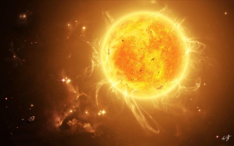 13 The sun