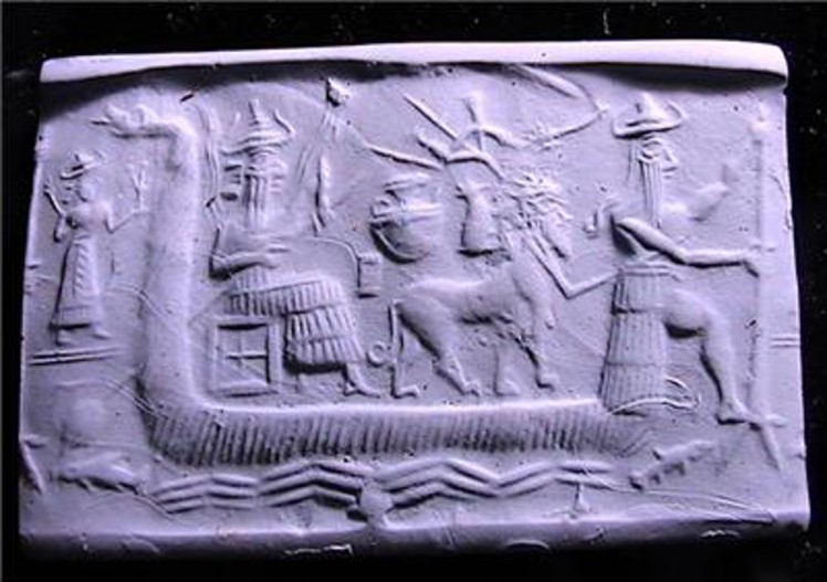 2 Sumerian flood