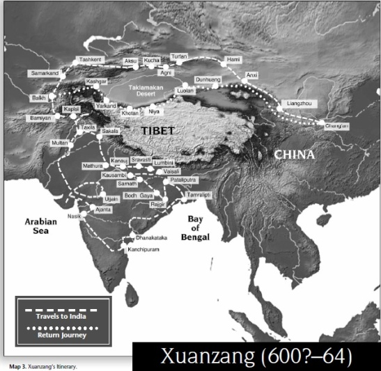 3 The journey of Xuanzang