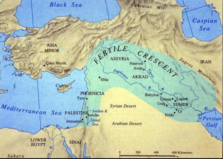 4 Fertile crescent