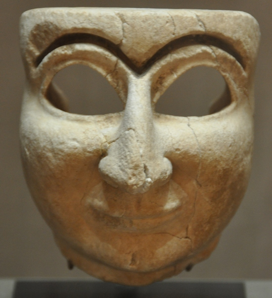 9 Sumerian mask