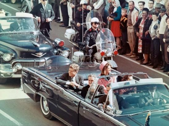 12 Kennedy cavalcade