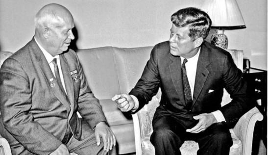 6 Kennedy and Khrushchev