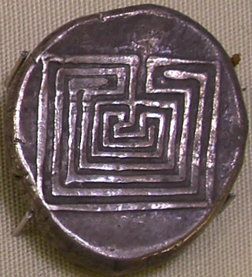 4 Knossos silver coin 400bc