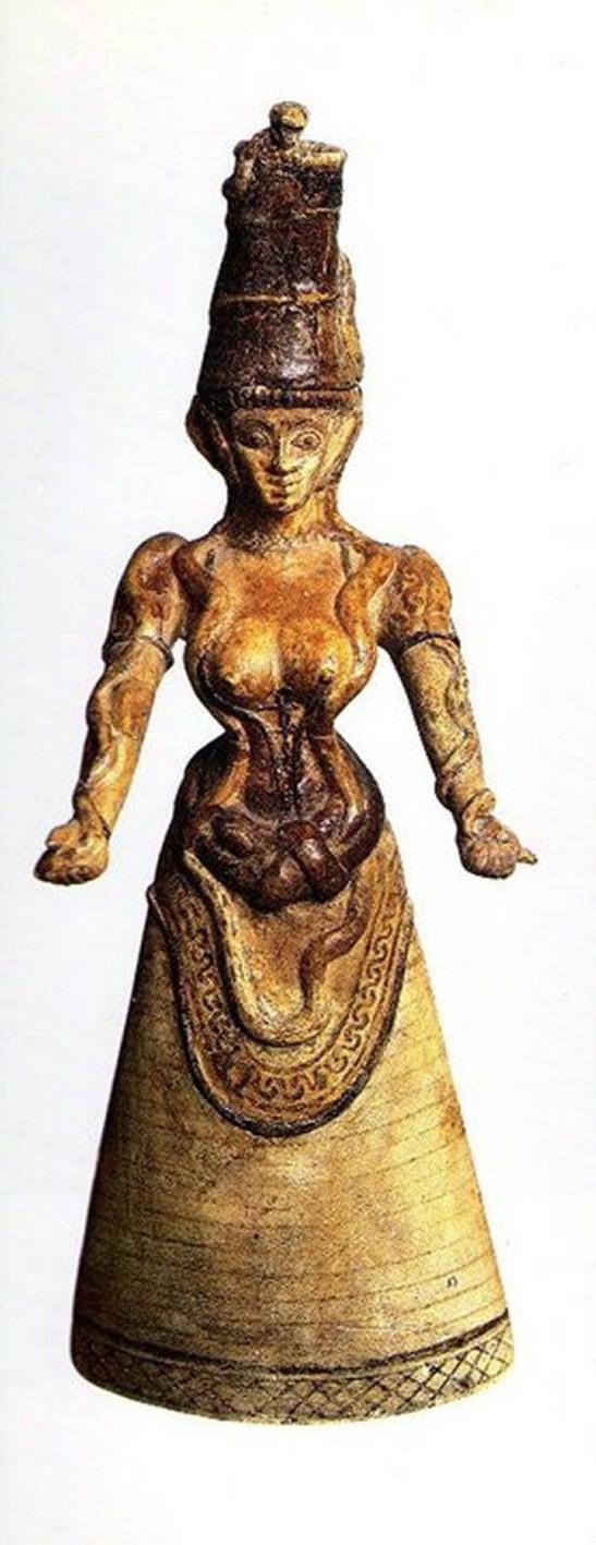 9 cretan goddess