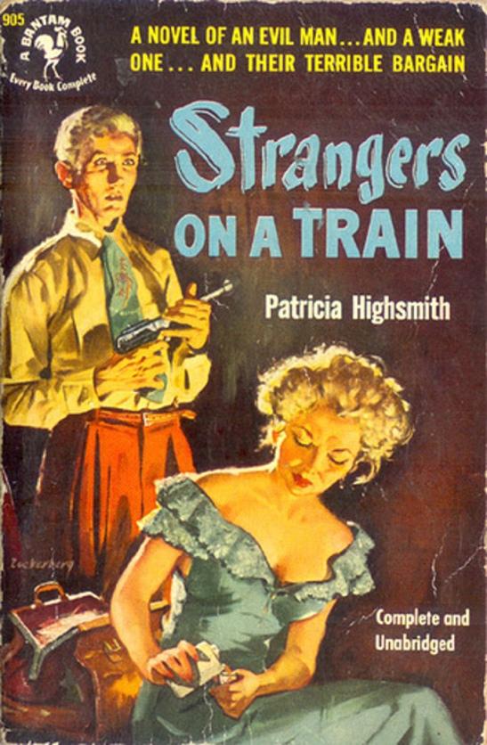 9 strangers on a train