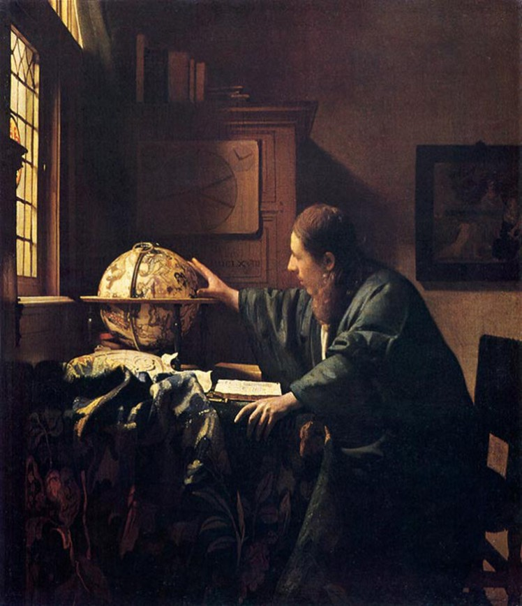 1 Vermeer astronomer