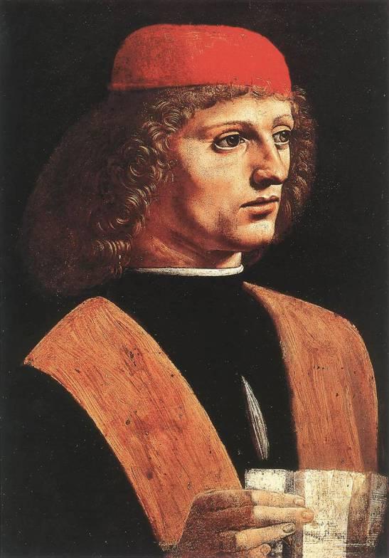 2 Leonardo Portrait of a Musician