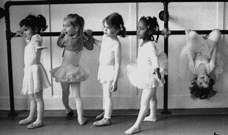 4 Little ballerinas