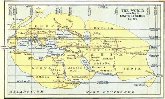 5 Eratosthenes map
