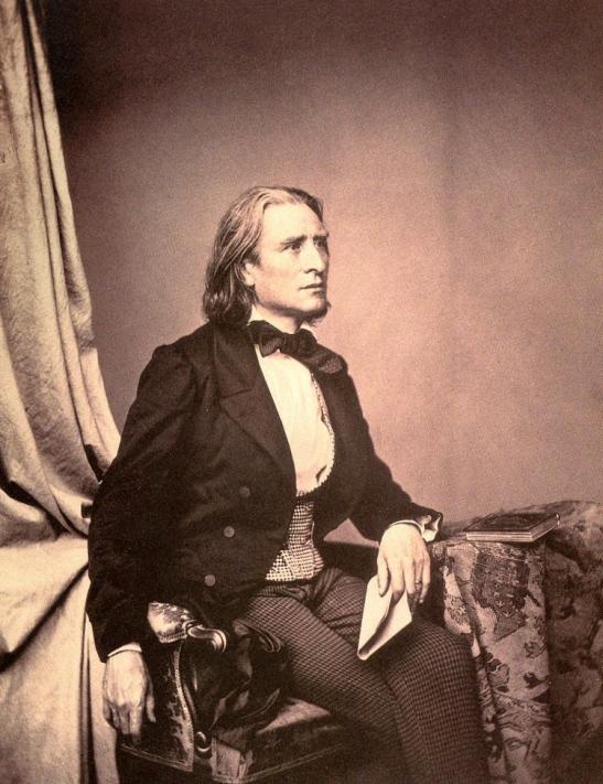 7 Franz Liszt 1858