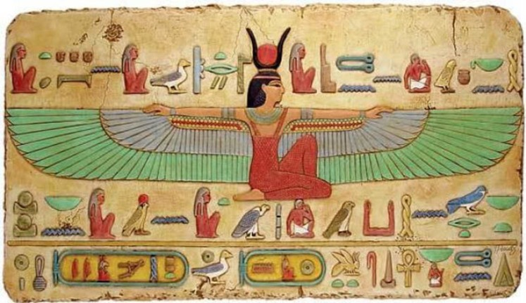 4 Winged Isis
