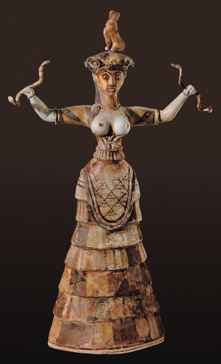 6 Snake goddess on Crete