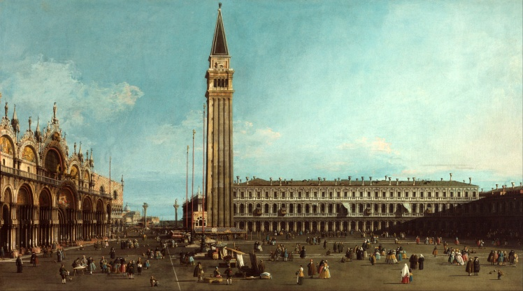 1 Canaletto piazza san marco