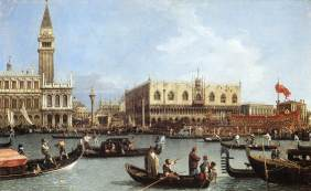 8 Canaletto Return of the Bucentoro to the Molo on Ascension Day,1732