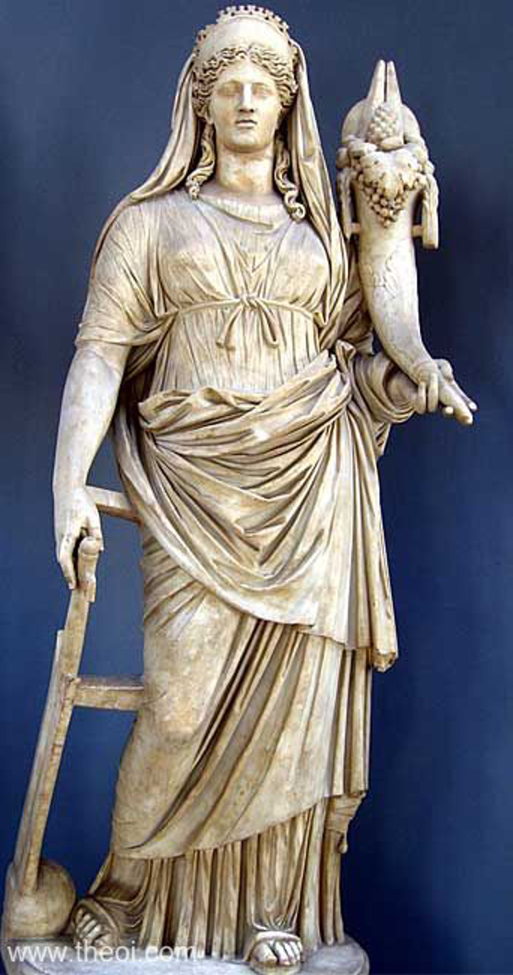 demeter greek goddess statue - photo #2