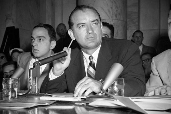 Joseph McCarthy,  Roy Cohn
