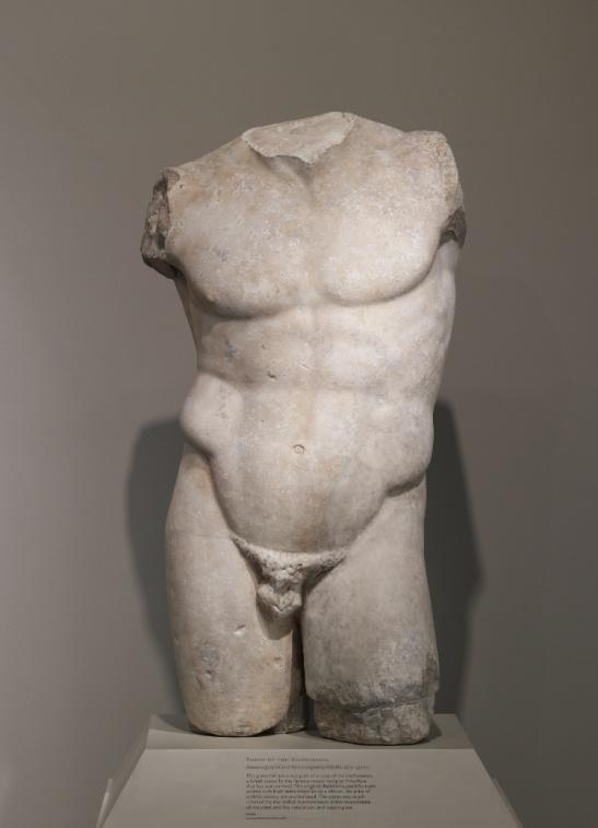 8 censored statue