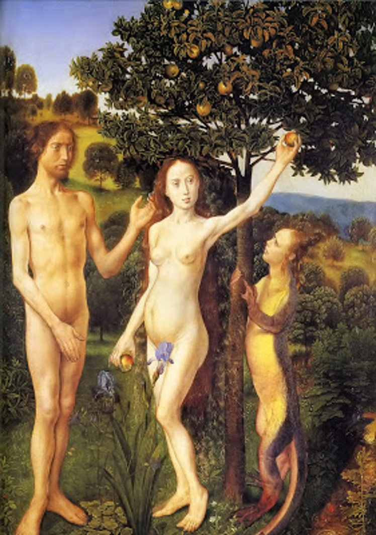 1 Adam and Eve, Hugo van der Goes 1470