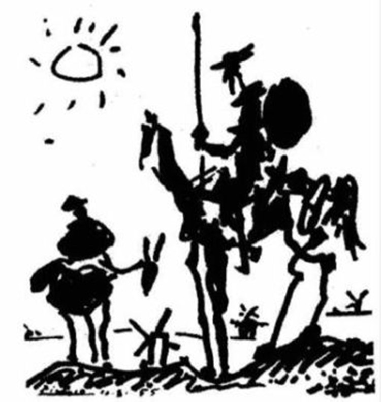 Image result for quixote picasso