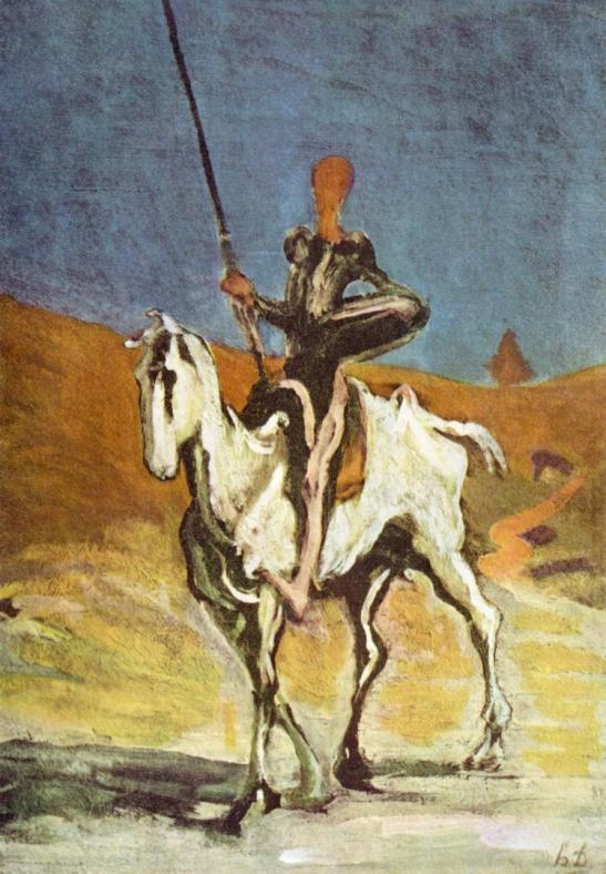 4 Honoré Daumier Don Quixote