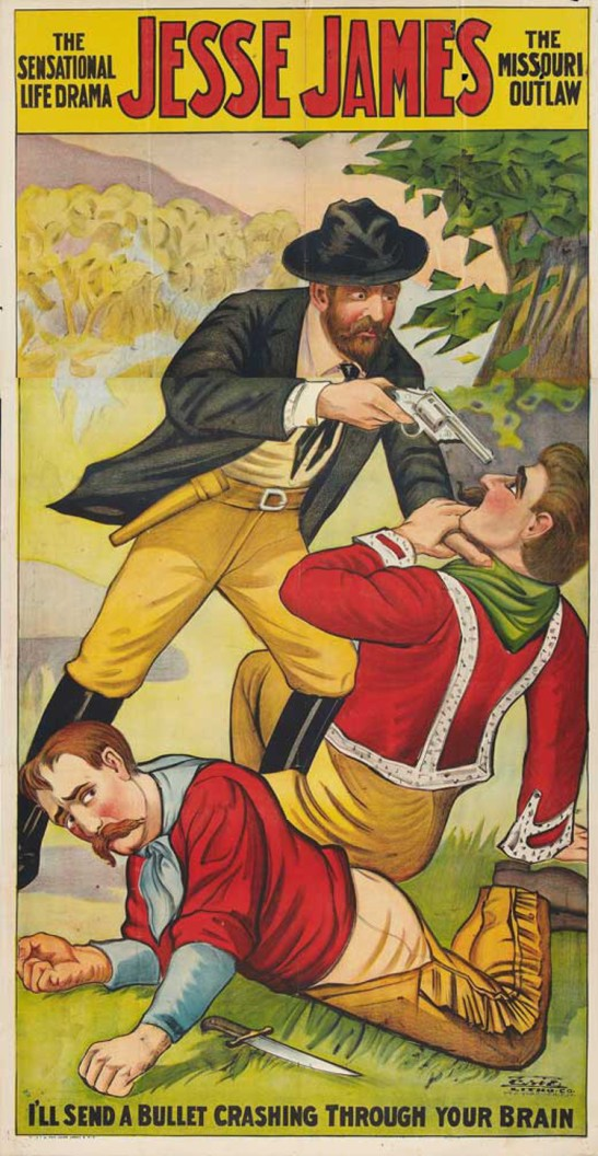 6 jesse james movie poster 1921