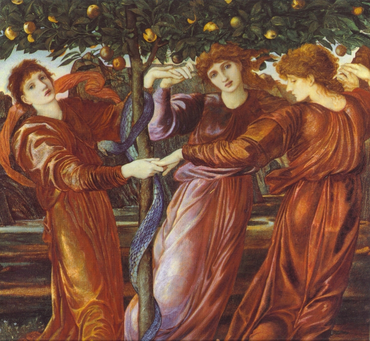 8 Hesperides William Morris