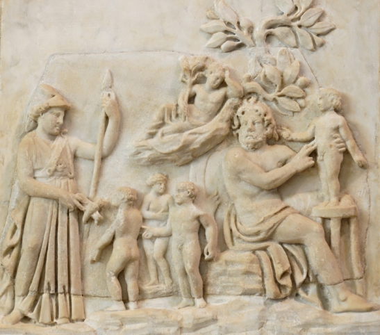 1 Creation of man by Prometheus