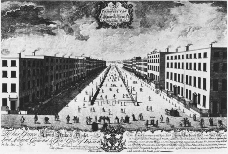 2 Sackville street 1760s