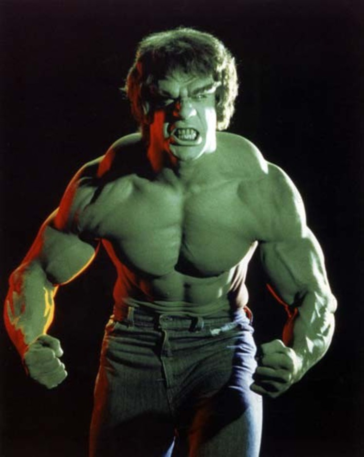 Incroyable Hulk The incredible Hulk  1978 1982 Lou Ferrigno Collection Christophel