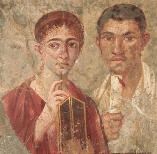 3 Pompeii portrait