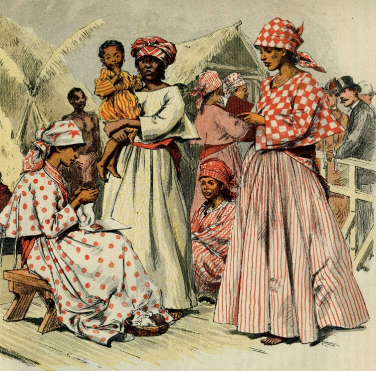 7 Slaves in Surinam