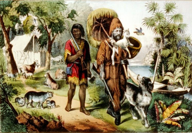8 Robinson Crusoe-Man Friday