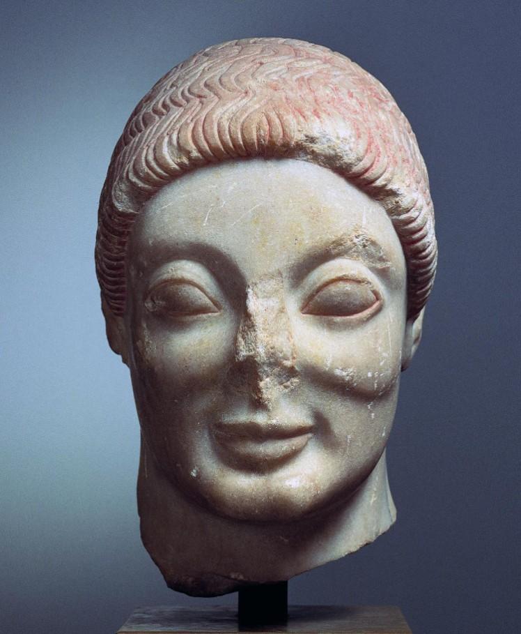 4 archaic smile