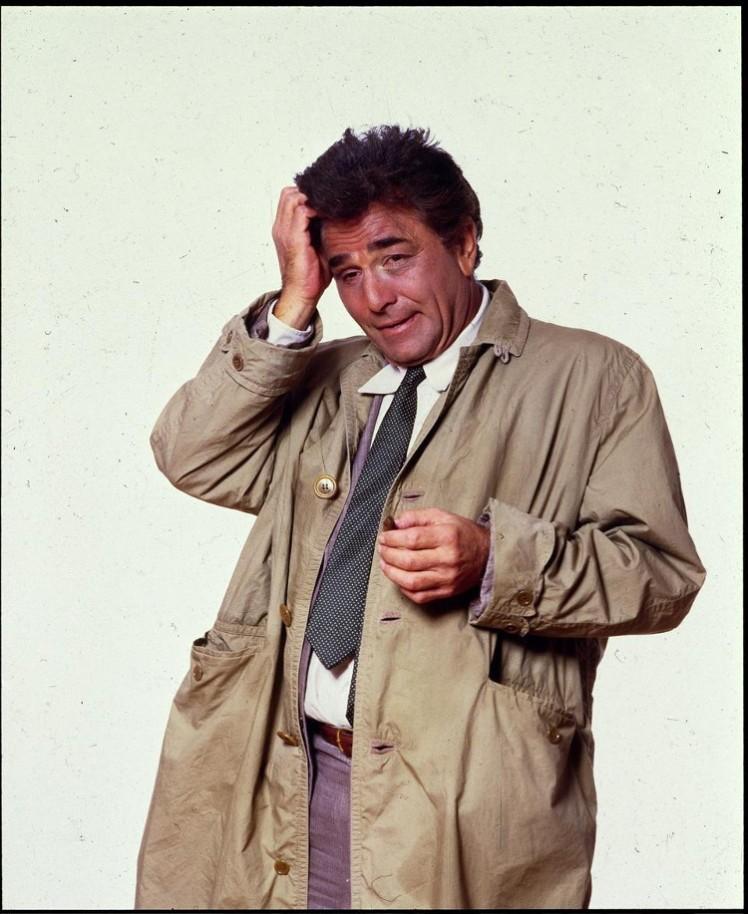 4 Peter Falk as Columbo