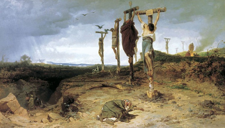 1 crucifixion