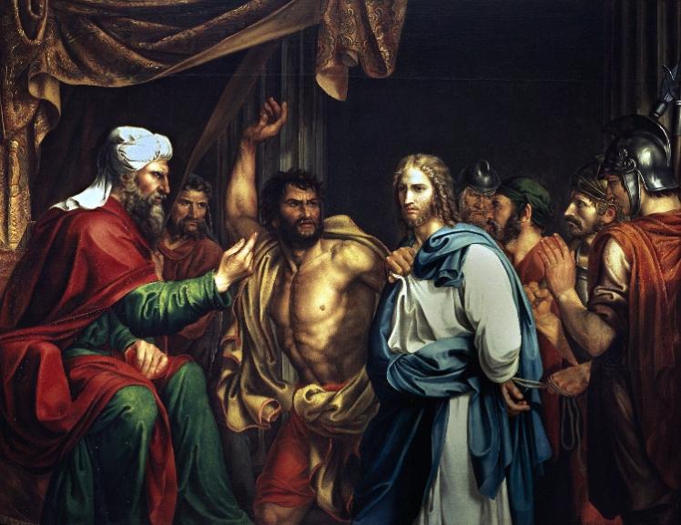 4 Jesús en casa de AnásJosé de Madrazo