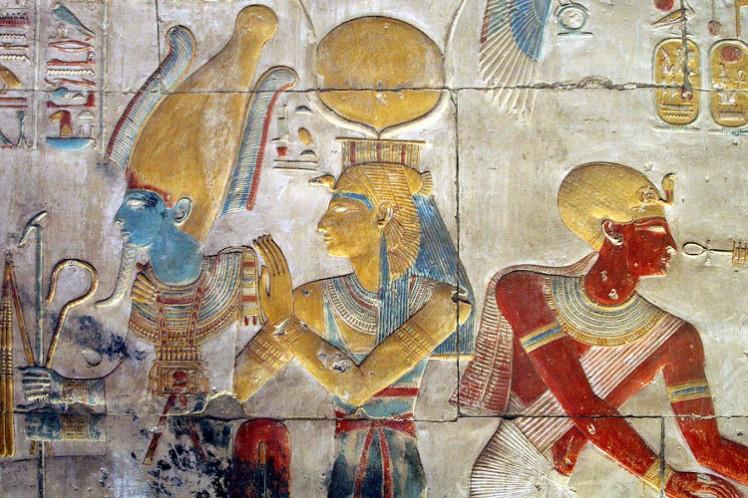 6 Osiris and Isis Abydos