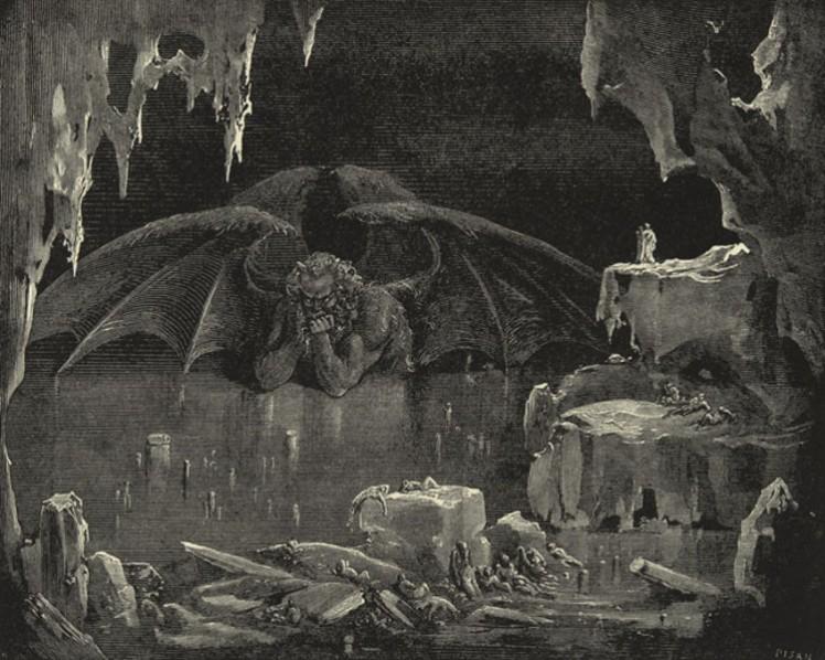 3 Dore Lucifer hell